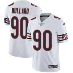 5fd8884145d Youth Nike Chicago Bears #90 Jonathan Bullard Limited White NFL Jersey