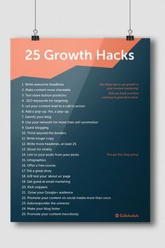 growth hacks in your content marketing is the best way to explode audience, traffic, and viral growth. Here are 25 ways to do it right. Inbound Marketing, Marketing Digital, Marketing Viral, Content Marketing Strategy, Marketing Quotes, Facebook Marketing, Marketing Tools, Internet Marketing, Online Marketing
