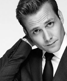 As I was reading the Fifty Shades series, this is who I had pictured as Christian Grey. He is the guy from Because I Said So... and he plays in the show Suits.