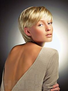Hairstyles for Short Straight Hair | http://www.short-haircut.com/hairstyles-for-short-straight-hair.html