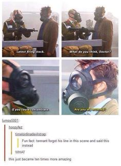Is that last one a pun because he was the tenth doctor