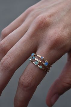Opal Wrap Ring