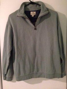 Ladies Sm Green Long Sleeve Zipper Neck Comfy Sweatshirt #Solitude #SweatshirtCrew $2.99 @Ebay