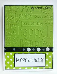Cherie's Corner of the World: Polka Dot Birthday