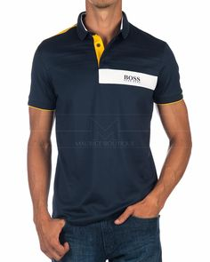 HUGO BOSS © Polo Shirt Paddy MK ✶ Navy Blue | BEST PRICE