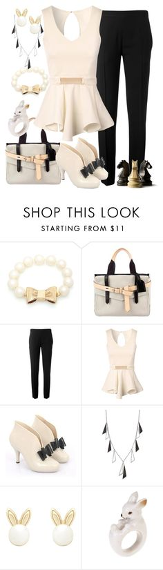 """Business Casual"" by faleur102 ❤ liked on Polyvore featuring Kate Spade, Reed Krakoff, Chloé, Jane Norman, ABS by Allen Schwartz, Lipsy, WorkWear, business and CasualChic"