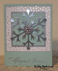 Four smooth white envelopes are also included. I made these cards with Stampin' Up! 's Snow Flurry Bigz Die, Special Season stamp set, All is Calm Designer Paper, and Frosted Finishes Embellishments. | eBay!