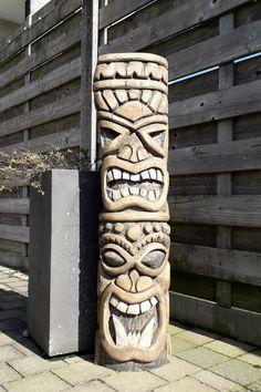 Tiki Pole, Tiki Tiki, Dremel Carving, Wood Carving, Tiki Head, Tiki Statues, Tiki Mask, Polynesian Culture, Stonehenge