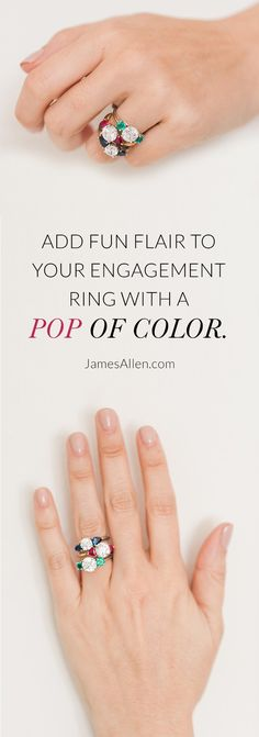 [ad] Click to add some fun to your engagement ring with a pop of color! Search now at JamesAllen.com. Beautiful Outfits, Beautiful Things, Trending 2017, Jewelry Accessories, Fashion Accessories, My Gems, Modern Love, Color Ring, Up Girl