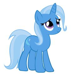 o.k. so I have Trixie and it's kind of sad because they don't give you her cape and hat! whhhyyyyy!