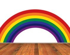 Genial Reusable Rainbow Wall Decal   Childrens Fabric Wall Decal   Extra Large.  $78.00, Via Etsy. | Oakleys Room | Pinterest | Rainbow Wall, Wall Decals  And ...