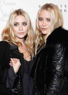 Mary-Kate and Ashley Olsen just made our second-day hair dreams come true!