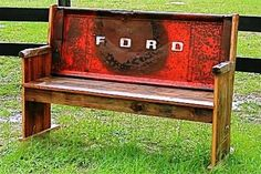 tailgate bench I'd like to have for the garage.