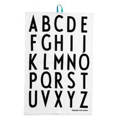 Design Letters Küchenhandtücher 2er Set