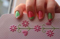 Pink & green Hello Kitty