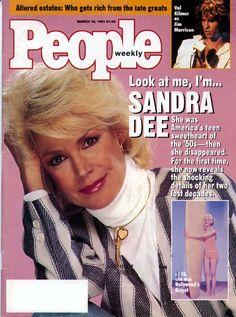 sandra dee height weight
