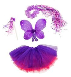 Hot Pink and Purple Fairy Set Comes with Two Tutus, Wand and Halo for Girls by Lil Princess, http://www.amazon.com/dp/B00AHHHO5K/ref=cm_sw_r_pi_dp_kkBErb1C674A2