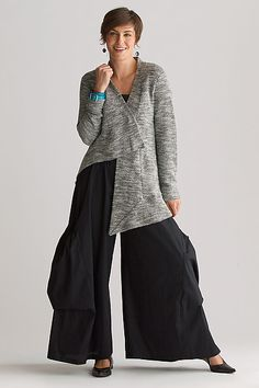 Jasper Cardigan: Cynthia Ashby: Cotton Blend Sweater - Artful Home