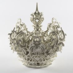 By http://www.instagram.com/hifructosemag / Don't want to be king just want to wear this crown! Porcelain has been a highly prized material for centuries impenetrable tough and strong yet it has the magical translucence found in sea shells where it earned its namesake. These contrasting aspects of porcelain are what make it so fascinating for sculptor Katusyo Aoki first featured in Hi-Fructose Vol. 21 who has chosen this material to express a multitude of emotions. She is perhaps best known…