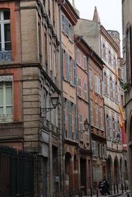Rue Malcousinat à Toulouse.