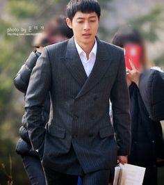 Kim Hyun Joong 김현중 Shooting For Inspiring Generation 감격시대 by MIJYA0909[March 16, 2014]