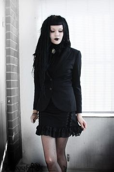 Smart Goth, perfect for the office