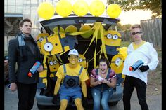 Despicable Me Trunk or Treat and Costumes!