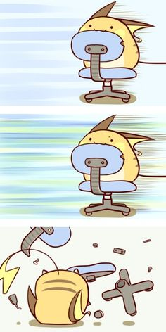 Mini Chibi Raichu Adventures 9 (Pokemon) Hahaha love this one