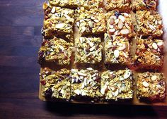 TRAIL CHEF: IN SEARCH OF THE PERFECT TRAIL BAR    Three do-it-yourself energy bar recip