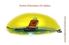 Pocket Princesses is on Haitus Hey everyone. First of all, thank you EVERYONE who has enjoyed PP so far and taken time with notes and reblogs to tell me. It's always very thrilling to know the art has given you a giggle. However, due to an increase...