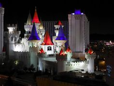Excalibur Hotel, Las Vegas.  One of my fav places to visit in Vegas.