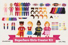 Superhero Girls Creator Kit