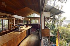 West Head House   Design: Peter Stuchbury Architects Photos: Michael Nicholson  Clareville Beach, NSW Australia