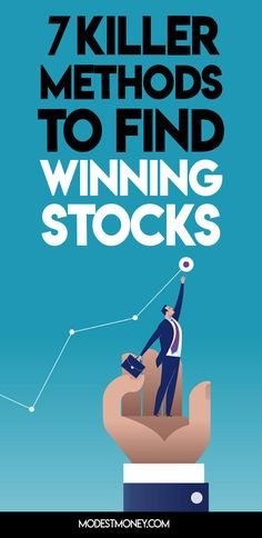 Learn the secrets to finding winning stocks to help you be financially successful. Investing In Stocks, Investing Money, Online Trading, Day Trading, Federal Deposit Insurance Corporation, Wordpress, Investment Tips, Marketing Data, Budget Planner