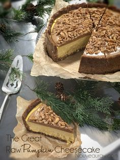 The Great Raw Pumpkin Cheesecake