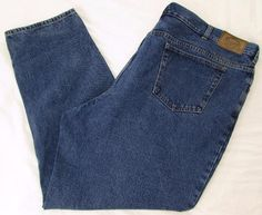 Men Cabela's Jeans Relaxed Straight Leg Classic Rise 100% Cotton sz 48 X 32 #Cabelas #ClassicStraightLeg
