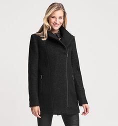 Manteau dans noir