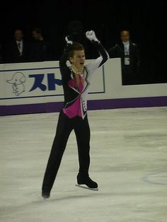 Misha Ge(Uzbekistan) : World Figure Skating Championships 2013 in London(CANADA)