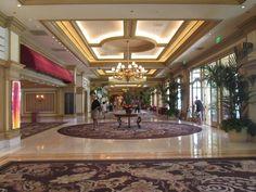 Luxo e conforto no hotel Bellagio.