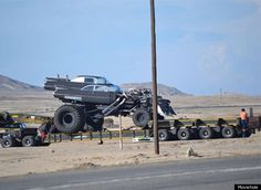 Double Bod Cadillac Coupe Each With 2 Supercharged Mounted On Monster Truck Chis Cow Catcher Gigahorse In Latest Mad Max Fury Road