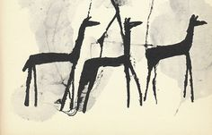 """Primitive Horses"" by Ben Shahn"
