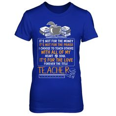 Teachers Teacher Training Retirement Teach - Shirts