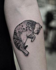 Little cat for Tania, thankyou! For bookings email chrisjonestattooer@gmail.com…
