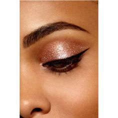 Magnificent Metals Glitter Glow Liquid Eye Shadow ($24) ❤ liked on Polyvore featuring beauty products, makeup, eye makeup and eyeshadow