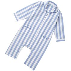 Woven Stripe Romper by Piccalilly This is a super stylish all-in-one playsuit made from sumptuously soft brushed organic cotton Featuring colour