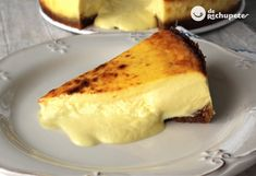 The best cheese cake in Spain - Celine's Recipes Sweets Recipes, Cooking Recipes, Desserts, American Cheesecake, Tasty Videos, Best Cheese, Original Recipe, Cheesecake Recipes, Recipe Using