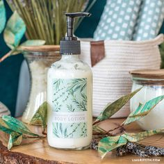 Mix up your own homemade lotion to remedy dry skin the all natural way. Our rosemary lotion recipe is easy to make and stays fresh for 6 months