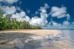 Wild beach at Yap island, Micronesia | Wild nature photographer Alexander Safonov