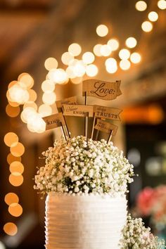 127 best Wedding Cake Toppers images on Pinterest   Rustic wedding     Rustic Wedding Cake Topper