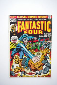 "Fantastic Four Vol.1 #139 - ""Target Tomorrow"" - Marvel Comics NM 9.4 by ThisCharmingManCave on Etsy  https://www.etsy.com/listing/264606212/"
